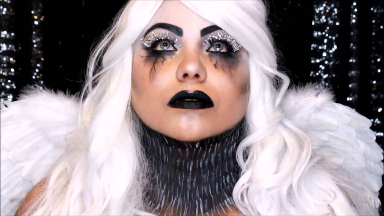 Fallen Angel Makeup Tutorial - Spirit Halloween - YouTube