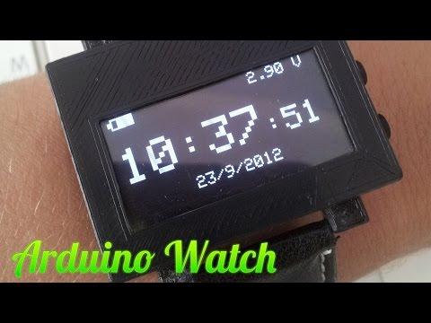 DIY Arduino Watch - самодельные часы на Ардуино