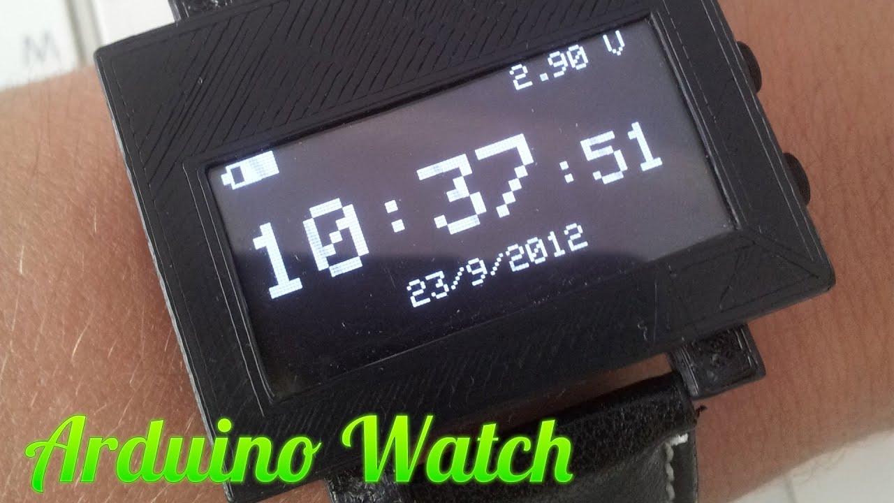 Diy arduino watch самодельные часы на Ардуино doovi
