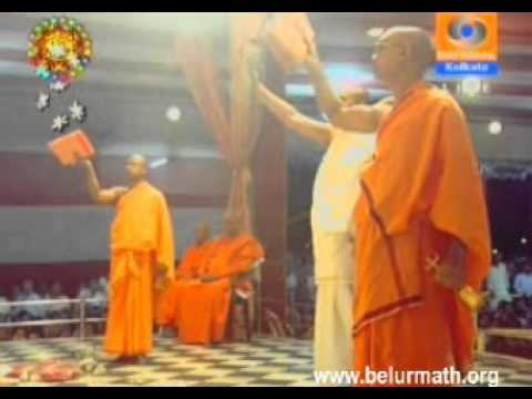 Sri Sri Durga Puja at Belur Math: 2010, Ashtami Arati