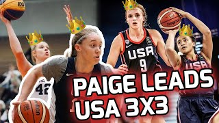 The Best 3x3 Squad EVER!? Paige Bueckers, Hailey Van Lith, Sam Brunelle, & Haley Jones Takeover 🤮