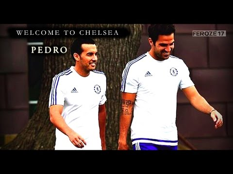 Welcome to Chelsea - Pedro by @feroze17