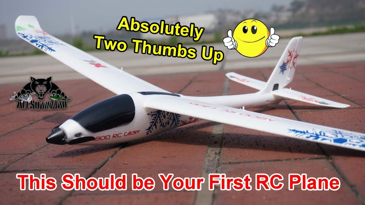 Best Mini Electric RC Glider Ever XK A800 Built in 6G Stabilization
