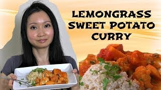 Lemongrass Sweet Potato Curry Recipe - Vegan And Gluten Free