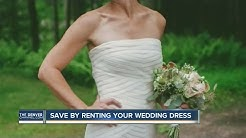 Why buy a wedding gown when you can rent it?