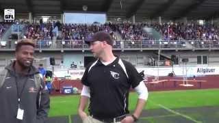 GFLTV 2015 - Playoffs - Viertelfinale : Allgäu Comets - Kiel Baltic Hurricanes