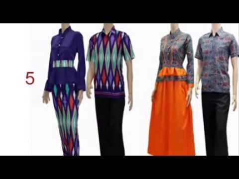 Couple Batik Murah Baju Batik Wanita Hamil Youtube