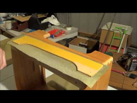 Tweed Covering Fender Deluxe 5e3 Clone Cabinet Part 1 Youtube