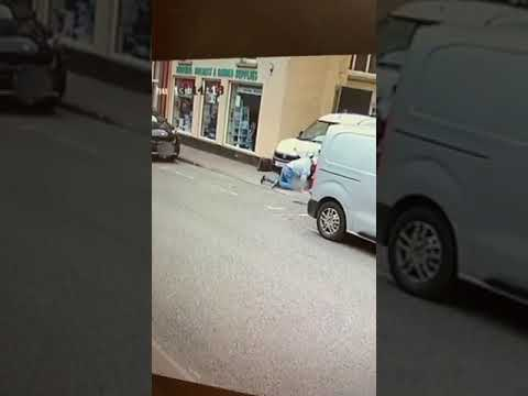 Getting Hit by Oncoming Car