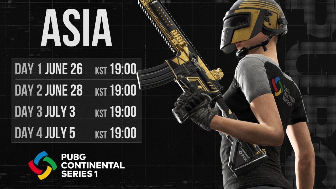 PUBG Continental Series 1: ASIA Day 3