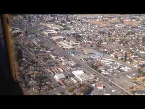 Flying Over Sequim, WA