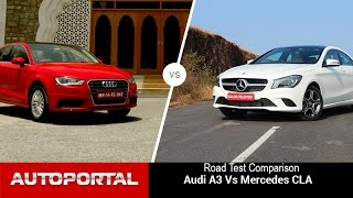 Audi A3 Vs Mercedes-Benz CLA Comparison Review- Auto Portal