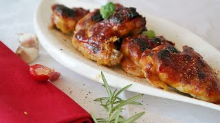 Tasty Chicken Wings With Chilli Dinner Recipes - Easy Chicken Fry Recipe - Chicken Fried Run Recipe