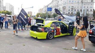 Выставка автозвуковых машин в ТВК Автомобили 09.08.2020