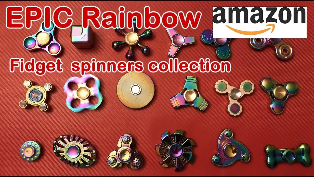 Top 10 8 Best Rainbow Fidget Spinners Collection On Amazon 2017
