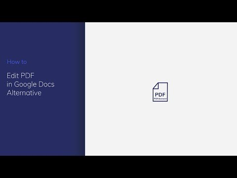 How To Edit PDF In Google Docs With PDFelement