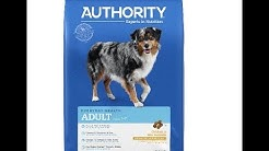 Petsmart Authority Adult Dog Food Chicken & Rice REVIEW