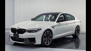 2019 BMW M5 COMPETITION M PERFORMANCE - Revs + Walkaround in 4k