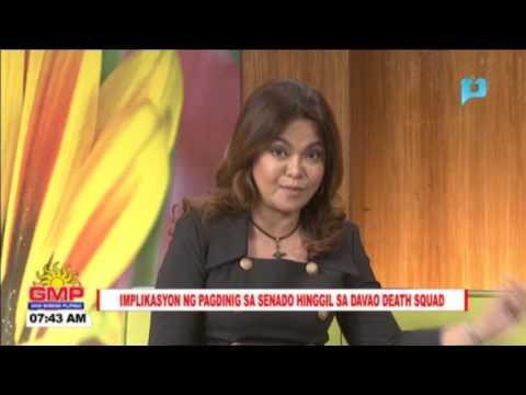 TALAKAYANG LEGAL: Implikasyon ng pagdinig sa Senado hinggil sa Davao Death Squad