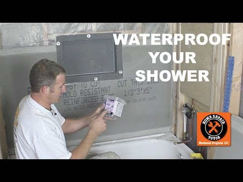 How to Waterproof a Shower (3 Awesome Methods!!) -- by Home Repair Tutor