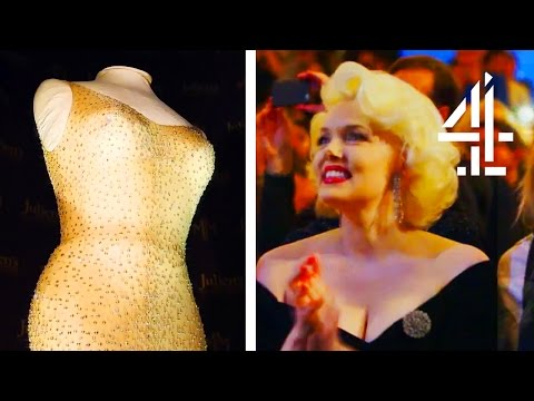 Worlds Most Expensive Dress Ever Sold - Marilyn Monroes Happy Birthday, Mr President Gown