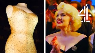 World's Most Expensive Dress Ever Sold - Marilyn Monroe's 'Happy Birthday, Mr President' Gown
