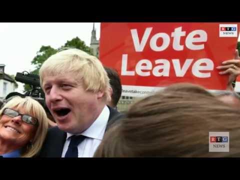 Britain Vote to leave Europe in Brexit EU Referendum