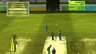 Brian Lara international Cricket 2007( PC Gameplay ) - India Vs Bangladesh Part - 1