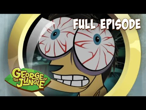 George Of The Jungle | Afraid of Nothing | HD | English Full Episode | Funny Cartoons For Kids