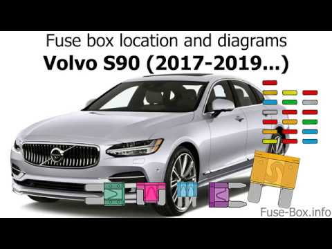 Fuse box location and diagrams: Volvo S90 / V90 (2017-2019...) - YouTube | Volvo Fuse Box In Car |  | YouTube