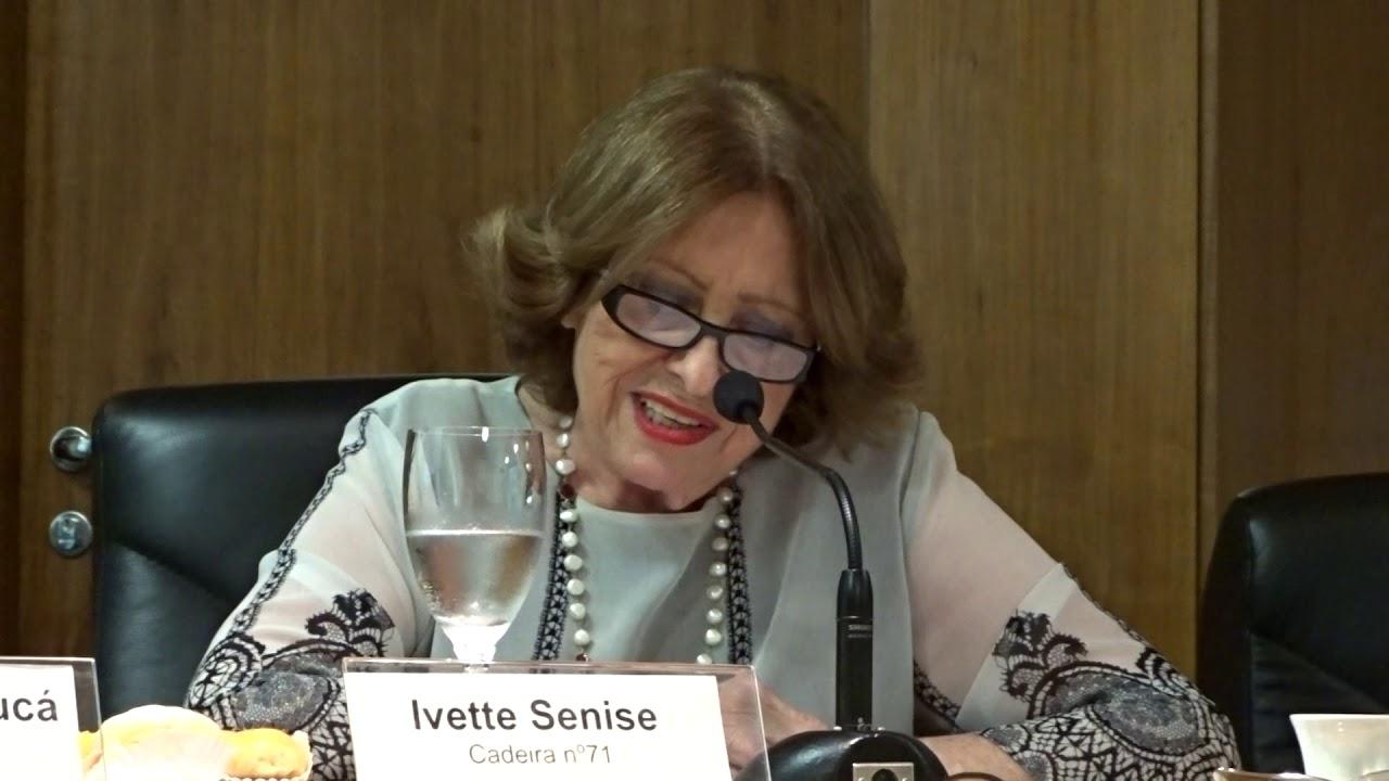 Ivette Senise - Discurso de recepção à Angela Vidal Gandra da Silva Martins