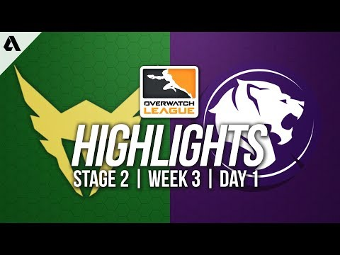 Los Angeles Valiant vs Los Angeles Gladiators | Overwatch League Highlights OWL Stage 2 Week 3 Day 1