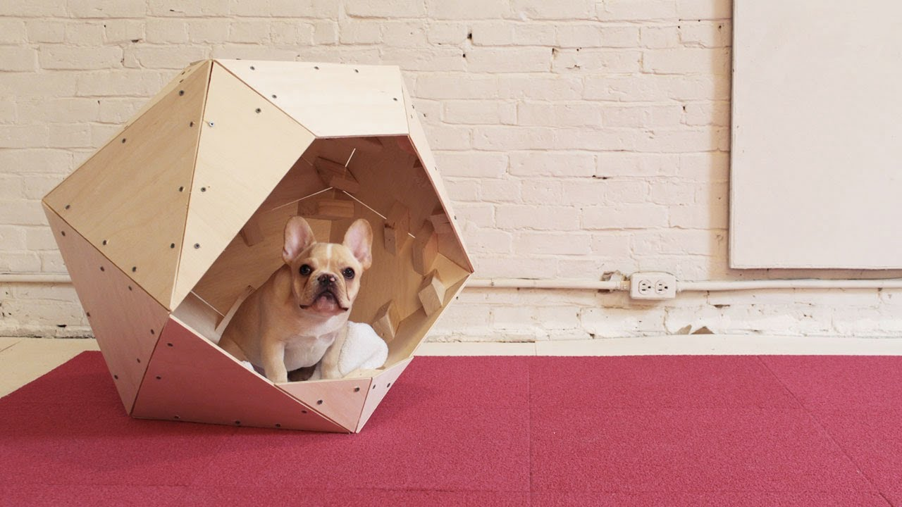 Homemade modern episode 13 diy geometric doghouse youtube