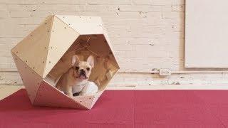 Homemade Modern, Episode 13 -- Diy Geometric Doghouse