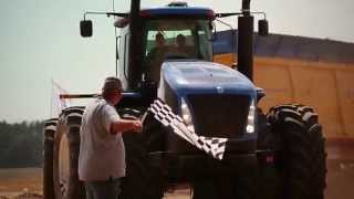 Brochard Sets Spreading World Record powered by New Holland
