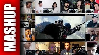 TRANSFORMERS 5: THE LAST KNIGHT Trailer Reactions Mashup