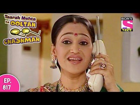 Taarak Mehta Ka Ooltah Chashmah - तारक मेहता - Episode 817 - 19th October, 2017