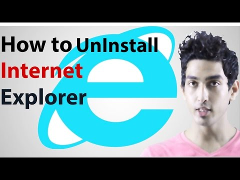 how to uninstall internet explorer-completely remove Internet Explorer from Windows