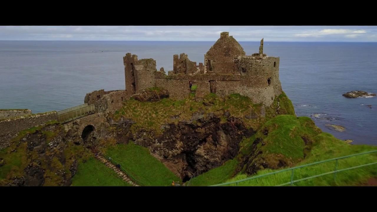 Dunluce Castle Castle Greyjoy Game Of Thrones Youtube