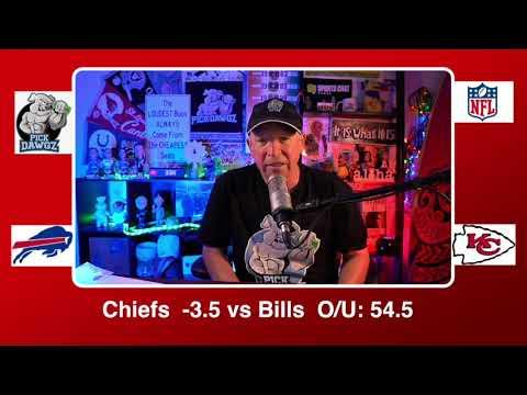 Kansas City Chiefs vs Buffalo Bills 1/24/21 NFL AFC Championship NFL Pick and Prediction Sunday