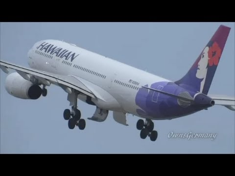 6 Hawaiian Airlines Airbus A330 S Hnl