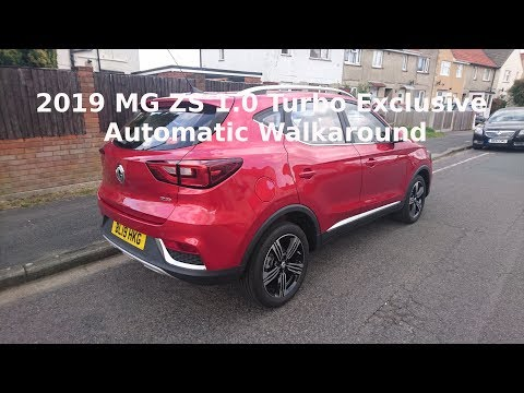 2019 MG ZS 1.0 Turbo Exclusive Automatic Walkaround - Lloyd Vehicle Consulting