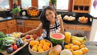 Calorias en Fruta y Verdura #RawvanaFit