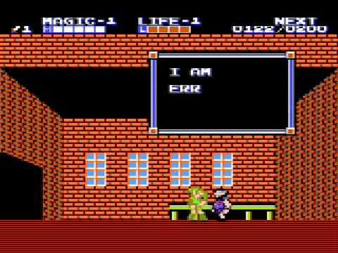Zelda II - The Adventure of Link Video Walkthrough - Part 1 - YouTube