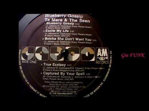 TA MARA & The Seen - blueberry gossip - 1988