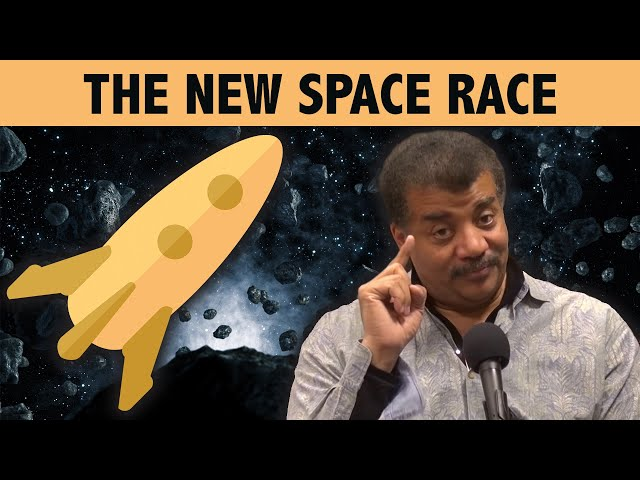 Cosmic Queries – The New Space Race with Neil deGrasse Tyson