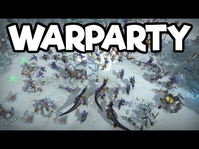 Caveman Vs. Undead RTS!! - WarParty Gameplay Impressions