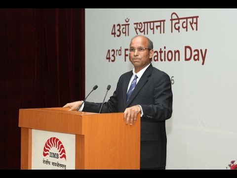 IIMB's Distinguished Alumnus Ramesh Srinivasan