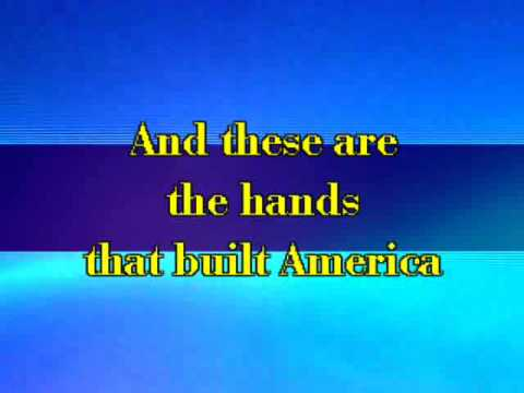 U2 - The Hands That Built America (Karaoke with Lyrics)
