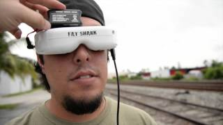 Phantom 3 with HD FatShark Goggles Test and Review